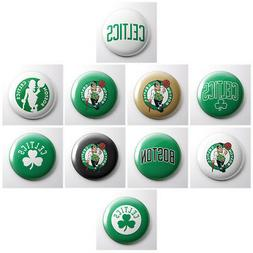 BOSTON CELTICS - NBA basketball pinback buttons - sports tea