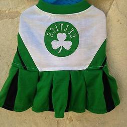 Boston Celtics NBA dog pet Cheerleader Dress