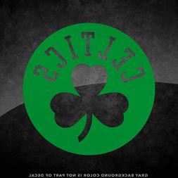 "Boston Celtics NBA Logo Vinyl Decal Sticker - 4"" and Larger"