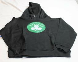 Boston Celtics NBA Pullover Hoodie Hooded Black Sweatshirt S