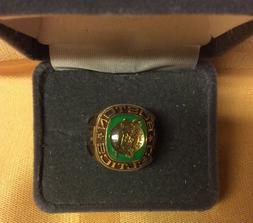Boston CELTICS NBA Team Ring Size 6 thru 12 Gold Color CELTI