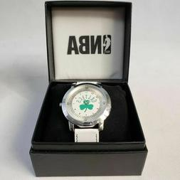 Boston Celtics NBA Watch Licensed Celtics Sports White Watch