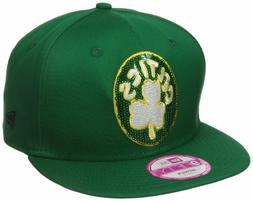 Boston Celtics NBA Women's New ERA 9FIFTY  Snapback Team Log