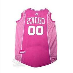 Boston Celtics Pink Pet Jersey