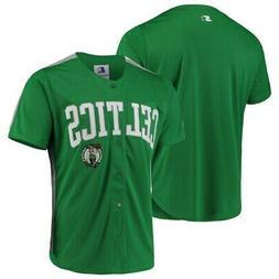 Boston Celtics Starter Playmaker Baseball Jersey Shirt - Kel