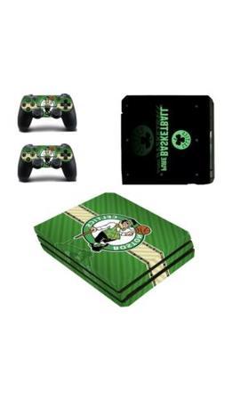 Boston Celtics PS4 Pro Skin Sticker Decal Vinyl Console+2 co