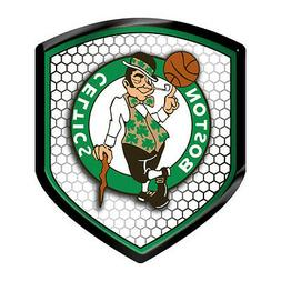 Boston Celtics Reflector Auto Decal  NBA Car Emblem Shield S