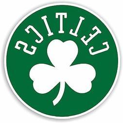 Boston Celtics Round  Decal / Sticker Die cut