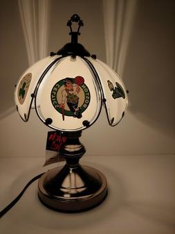 Boston Celtics Table/desk lamp desk accent sports 3 way Touc