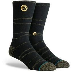 Boston Celtics Stance Trophy Twist Crew Socks