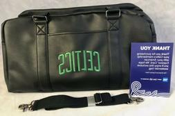 Boston Celtics Weekender Bag -Faux Leather Carry on Travel D