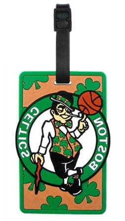Boston Celtics - NBA Soft Luggage Bag Tag