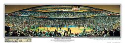 Boston Garden BOSTON CELTICS 23 LEGENDS Final Game  Panorami