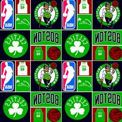 Cotton Boston Celtics NBA Basketball Sports Team Cotton Fabr