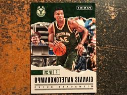 Giannis Antetokounmpo Celtics 2017 Panini Father's Day Promo
