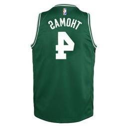 Nike Isaiah Thomas Boston Celtics Green Icon Swingman Jersey