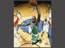 Kevin Garnett NETCAM SLAM  Boston Celtics Premium 16x20 POST