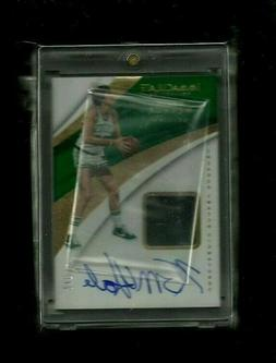 Kevin Mchale Immaculate SNEAKER SWATCH SIGNATURES GOLD Auto