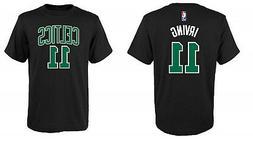 Kyrie Irving Boston Celtics #11 NBA Boys Black T-Shirt - You