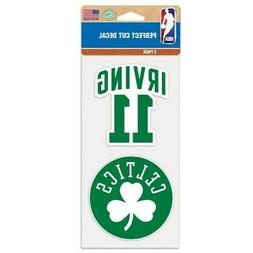 KYRIE IRVING BOSTON CELTICS 2 PIECE PERFECT CUT DECAL SHEET