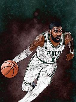Kyrie Irving - Boston Celtics - Art Print