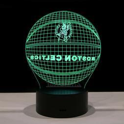 Boston Celtics Kyrie Irving Jayson Tatum LED Light Lamp Coll