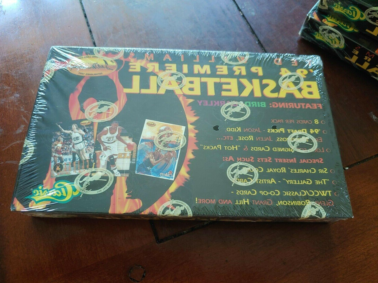 1994-95 Basketball Box With Packs