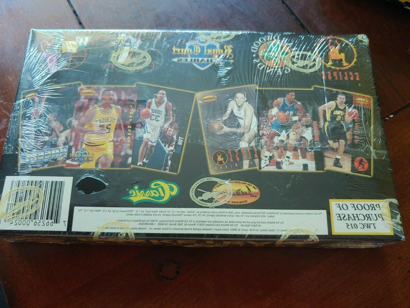 1994-95 Basketball Classic Box Packs