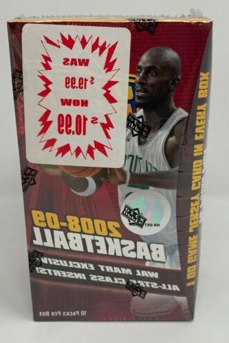 2008 09 upper deck basketball blaster box
