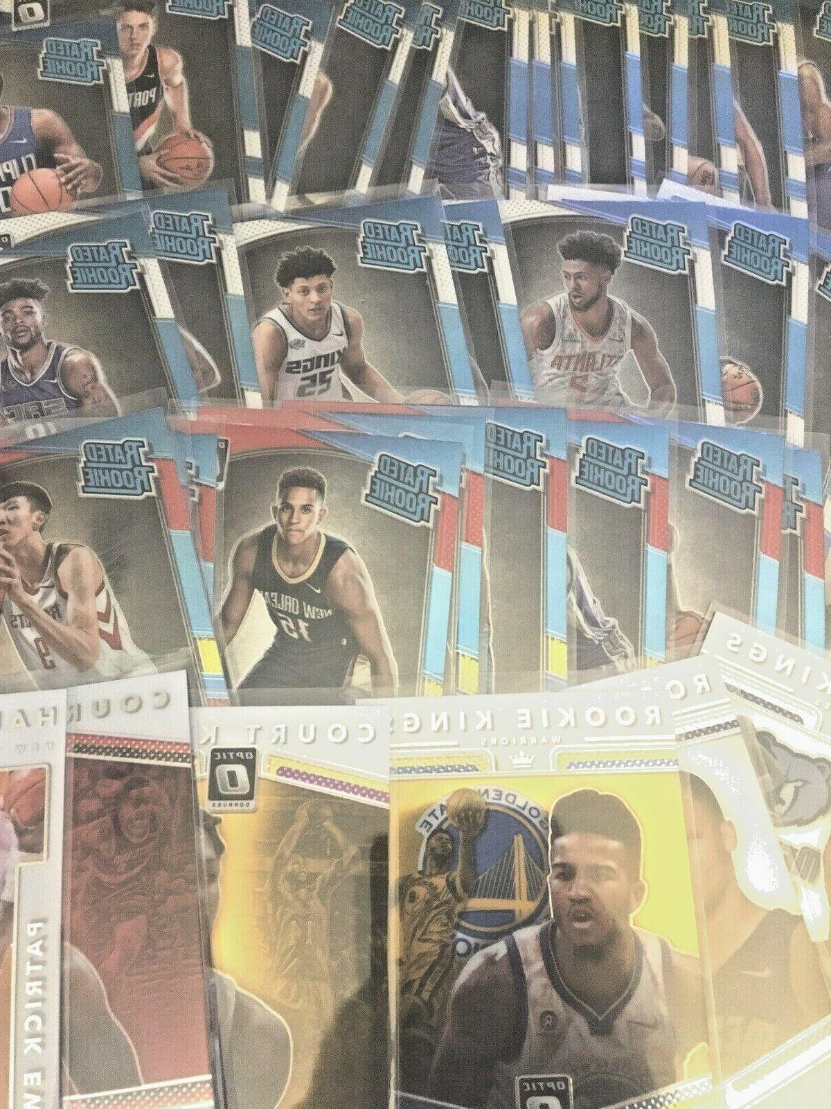 2017-2018 Donruss Rookies Base Parallels Free