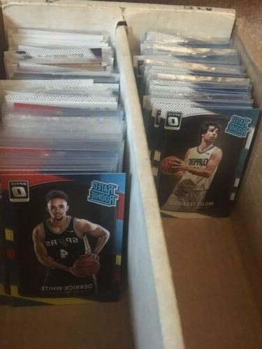 2017 2018 donruss optic basketball rookies inserts