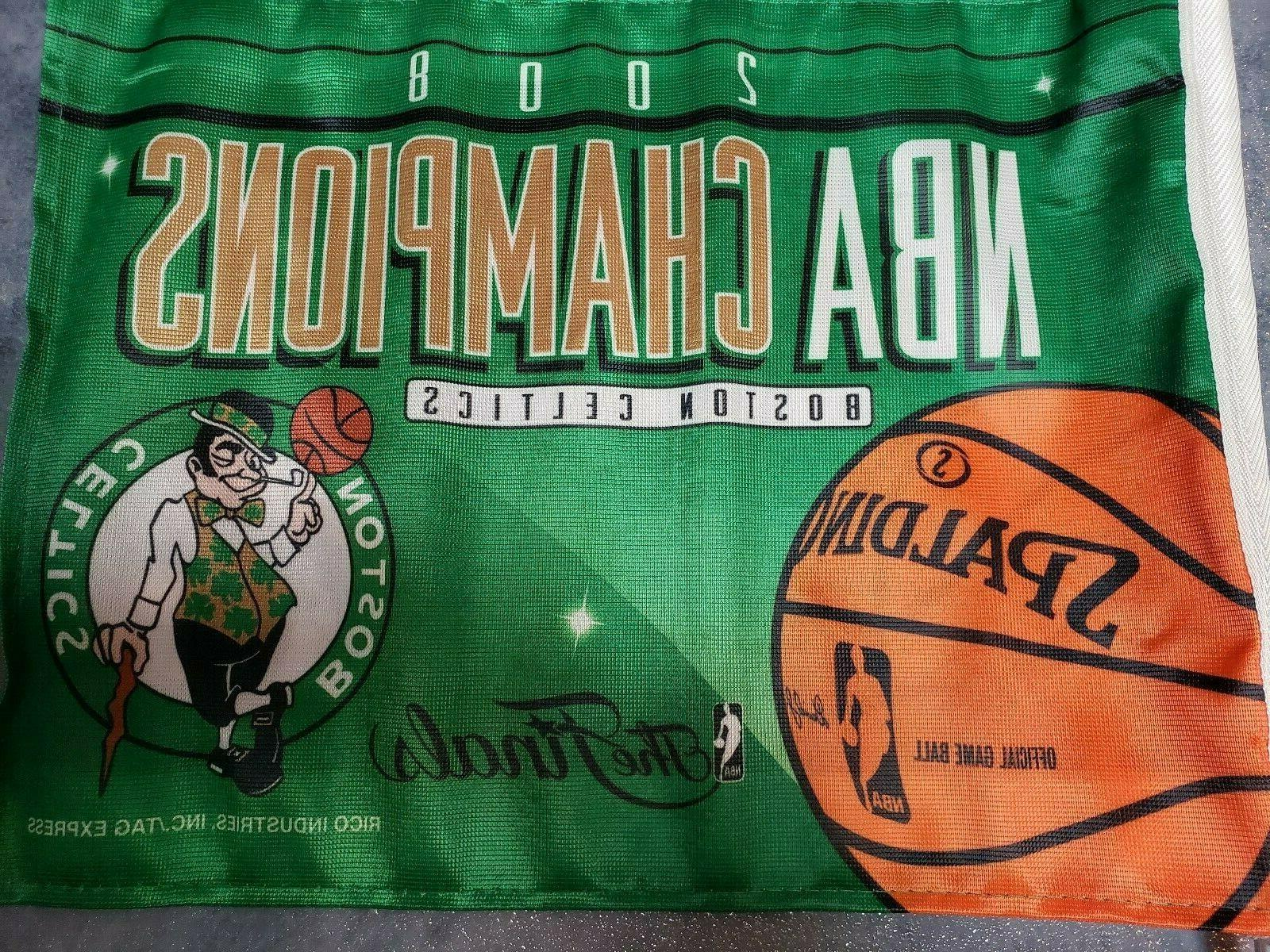 Boston Celtics 2008 TRUCK TWO SIDE Man must Colors