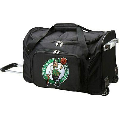 boston celtics 22 2 wheeled duffel bag