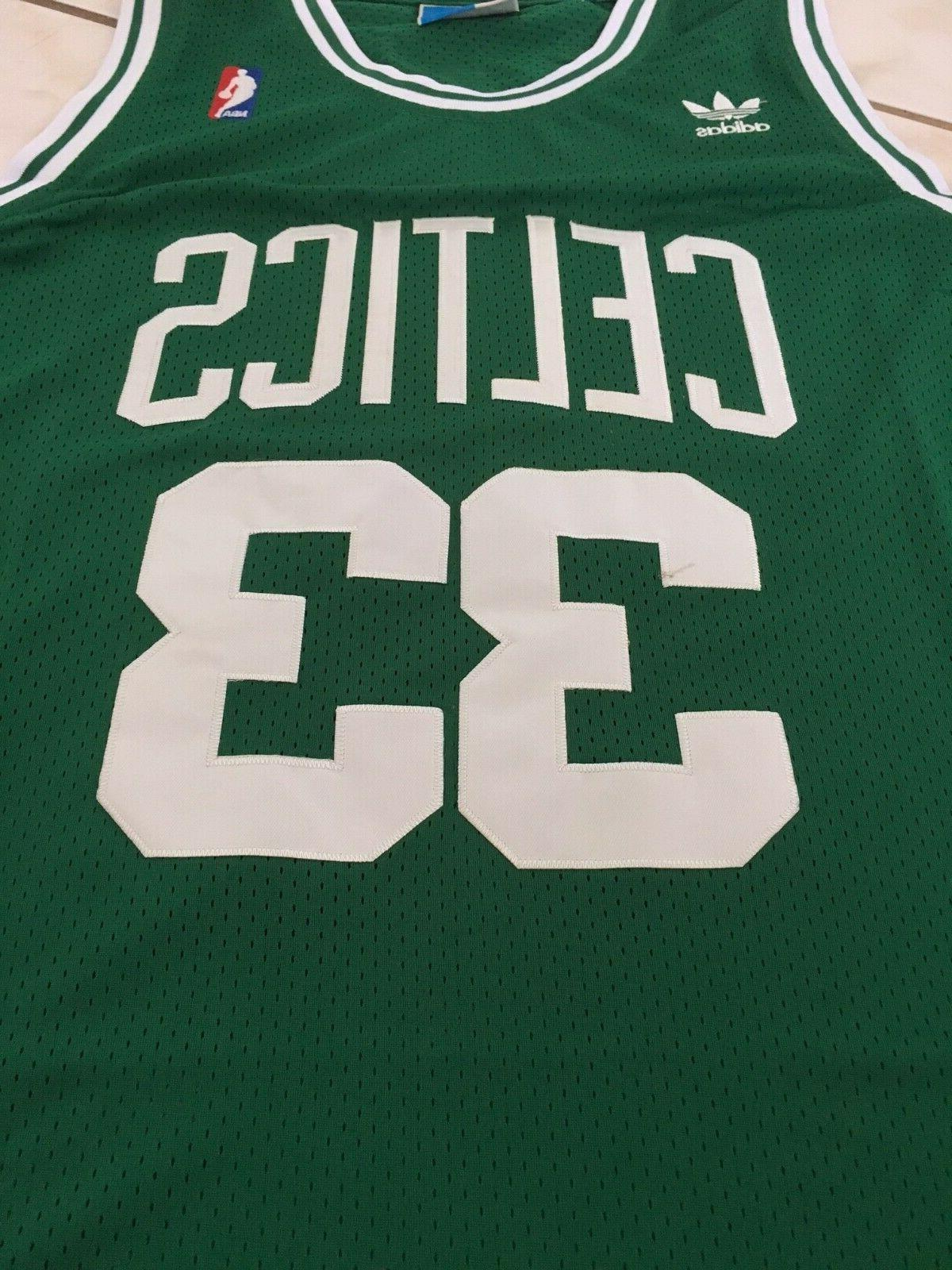 BOSTON CELTICS Bird Hardwood Classics Jersey