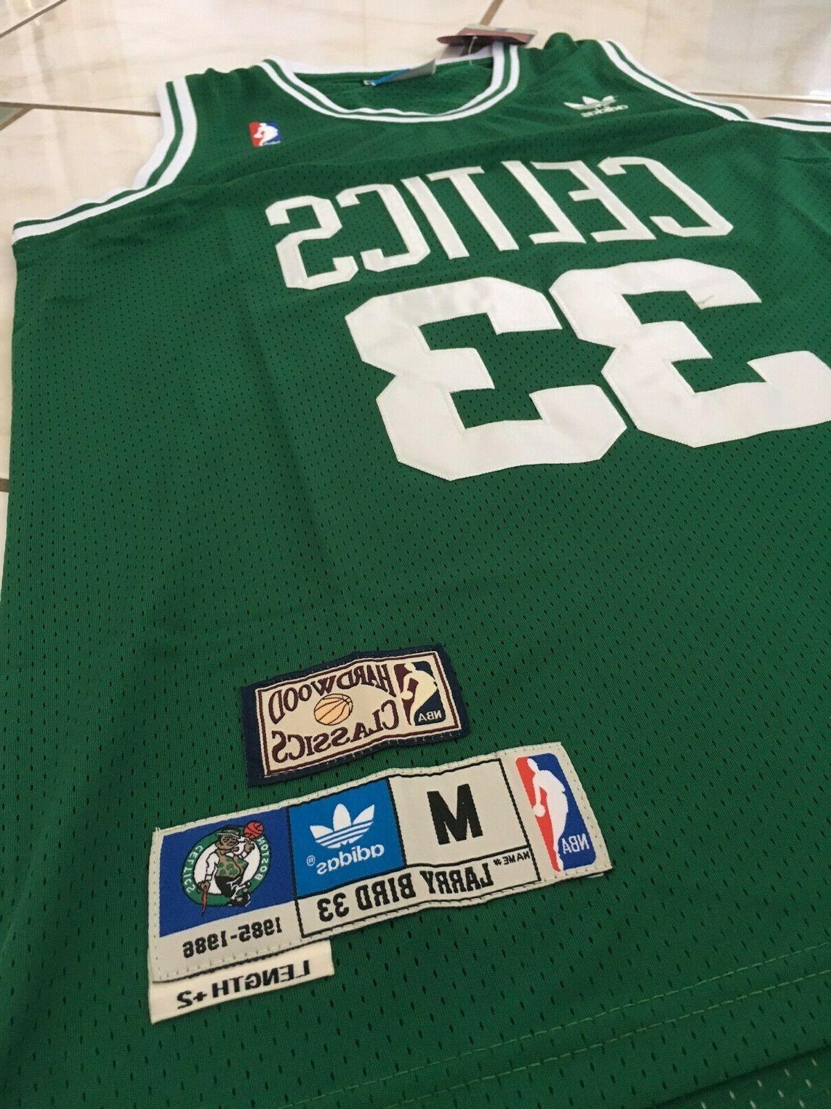 BOSTON CELTICS Bird Classics Sewn Jersey