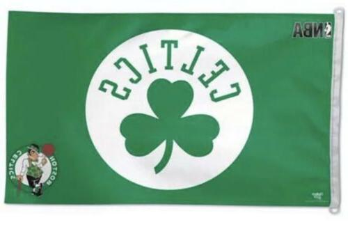 boston celtics 3x5 foot banner flag new