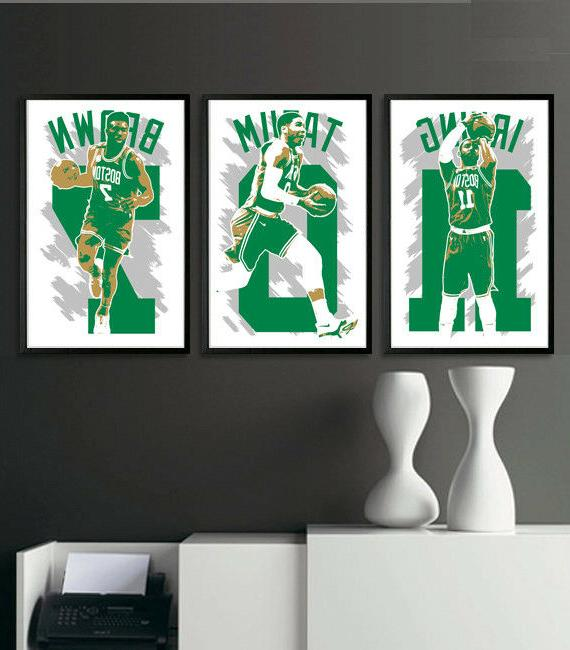 boston celtics art print poster fan pack