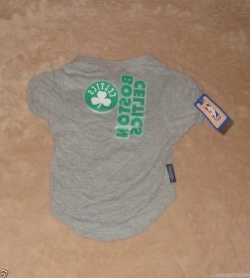 boston celtics basketball pet dog t shirt