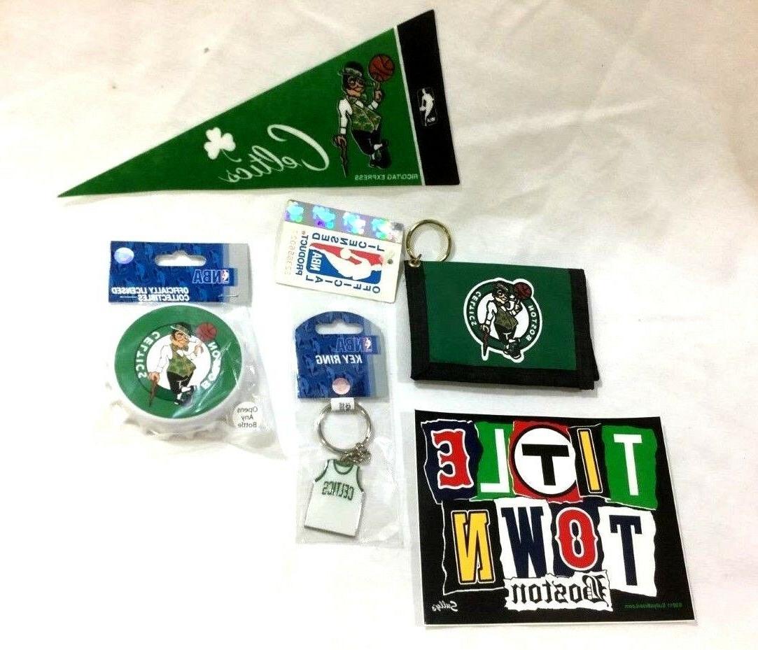 boston celtics fan pack bottle opener magnet