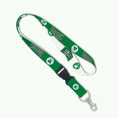 boston celtics lanyard key chain w detachable