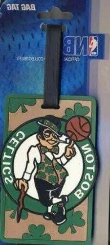 BOSTON CELTICS NBA BAG & LUGGAGE TAG