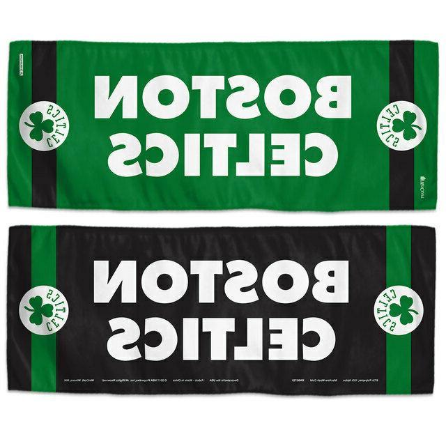 boston celtics nba basketball cooling towel 12x30