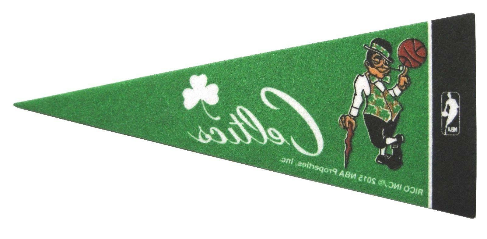boston celtics nba mini pennant 9 x4