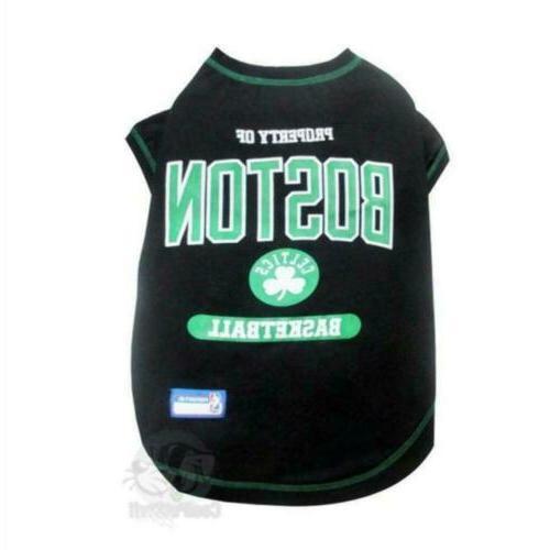 boston celtics pet t shirt
