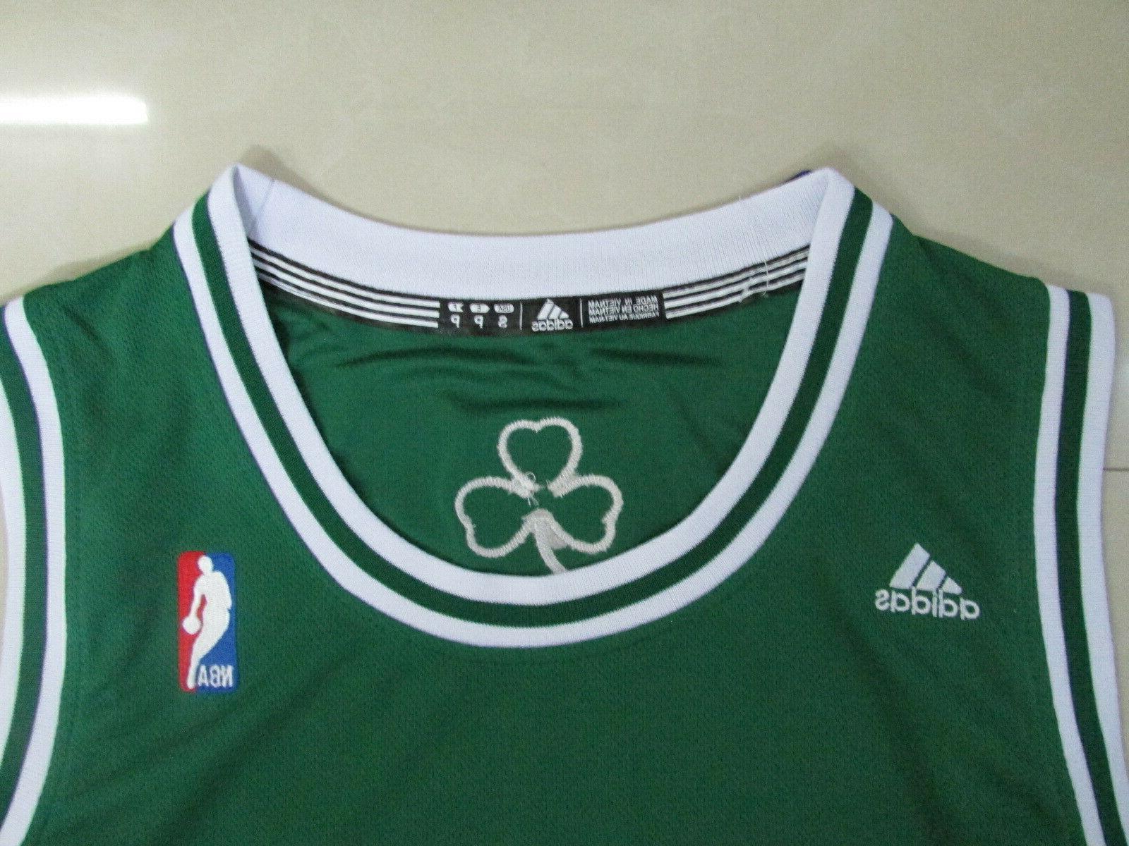 Boston Celtics Pierce Jersey Green
