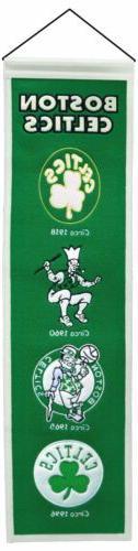 Boston Celtics Sport Team Heritage Banner 3002