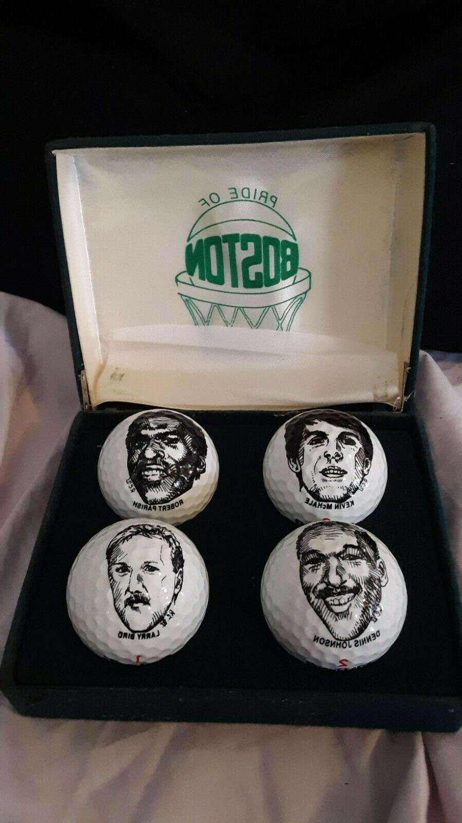 boston celtics vintage golf balls rare