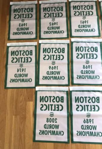 """Complete NBA Banners/Flags Lot 18.5"""" NEW"""