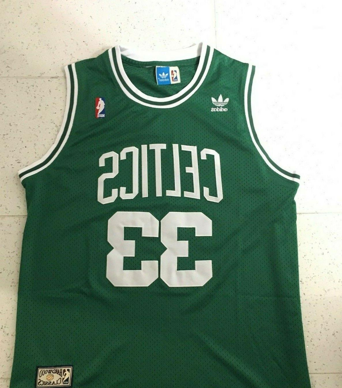 larry bird vintage boston celtics basketball jersey