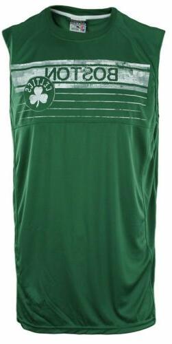 Zipway NBA Basketball Big Men's Boston Celtics Muscle Shirt